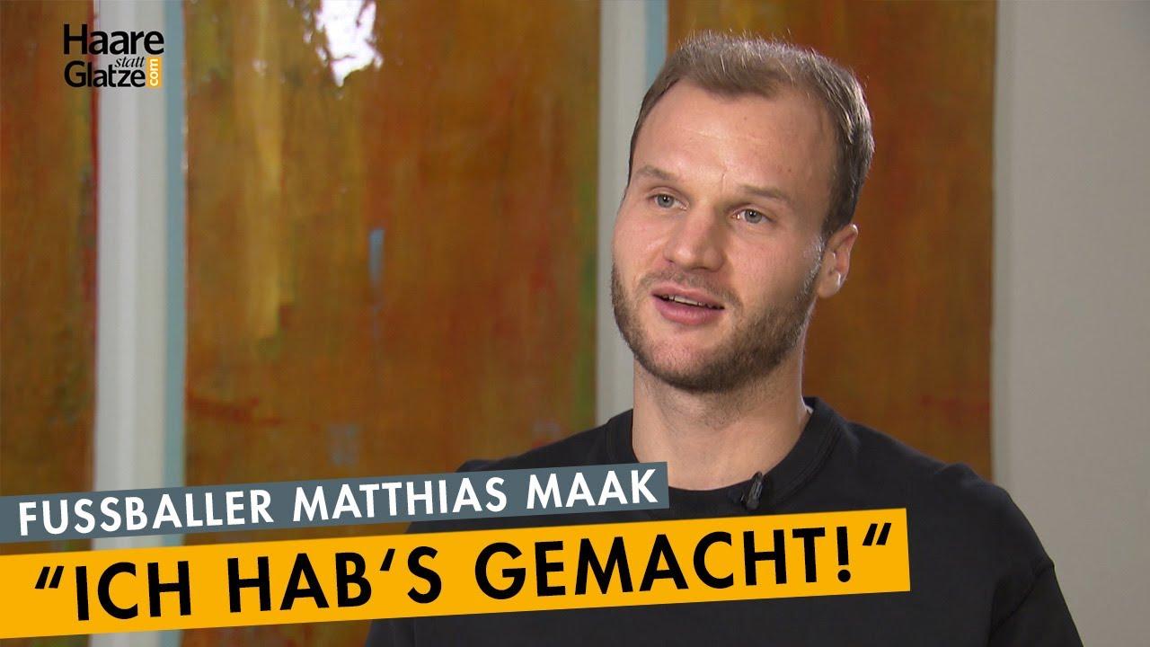 """""""Ich hab's gemacht!"""" - Fußballer Matthias Maak ließ sich Haare verpflanzen."""