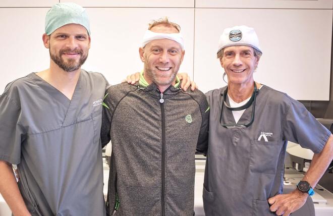 Davis-Cup-Kapitän Stefan Koubek entschied sich für Haare statt Glatze
