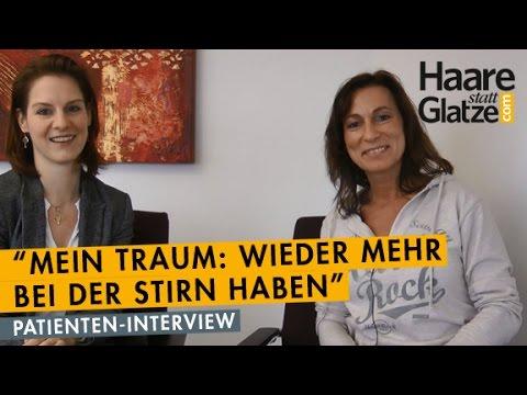 Haartransplantation bei einer Frau: Interview und Vorher/Nachher-Vergleich