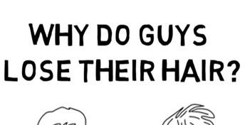 Warum verlieren Männer Haare?