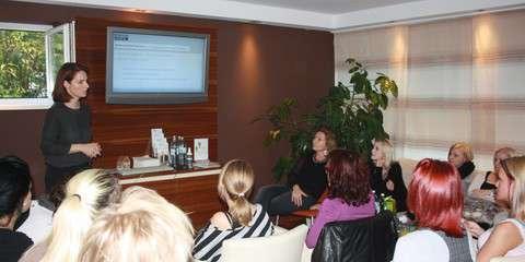 Vorträge in Friseur-Berufsschulen