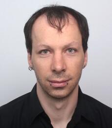 Florian Dürauer prima del trattamento
