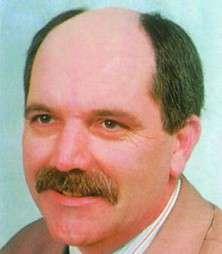 Herbert Krottendorfer vor der Behandlung