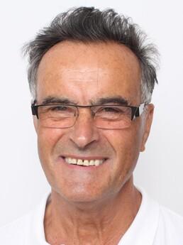 Josef Hackl nach der Behandlung