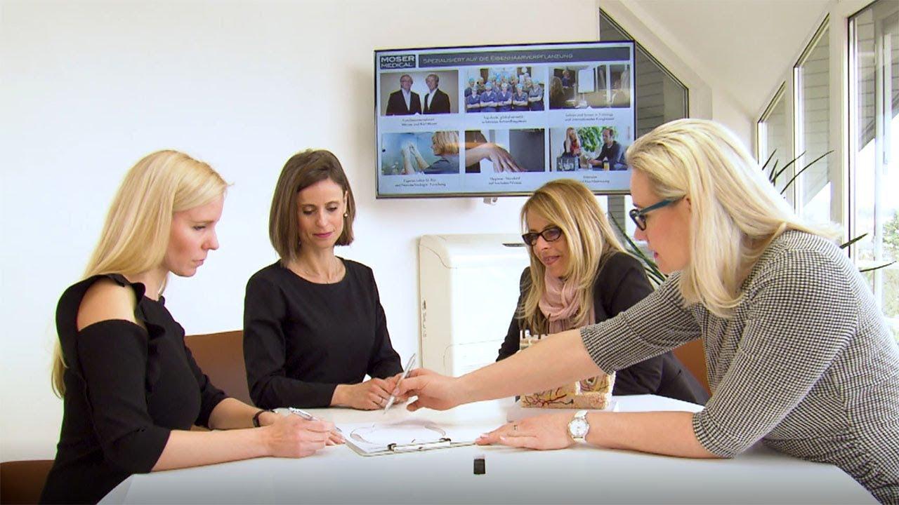 Beraterinnen für Haartransplantation im Portrait - Moser Medial