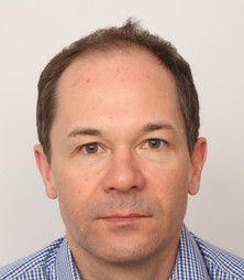 Michael J. vor der Behandlung