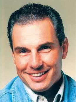 1995 - 3 Jahr nach der Haartransplantation