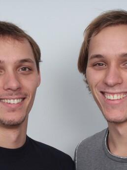 Stefan David und Stefan Dominik 7 Monate nach der Behandlung