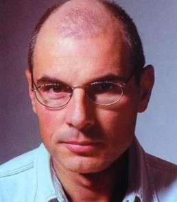 Helmut Grauer vor der Behandlung