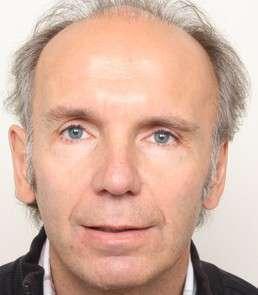 Helmut Grogger vor der Behandlung