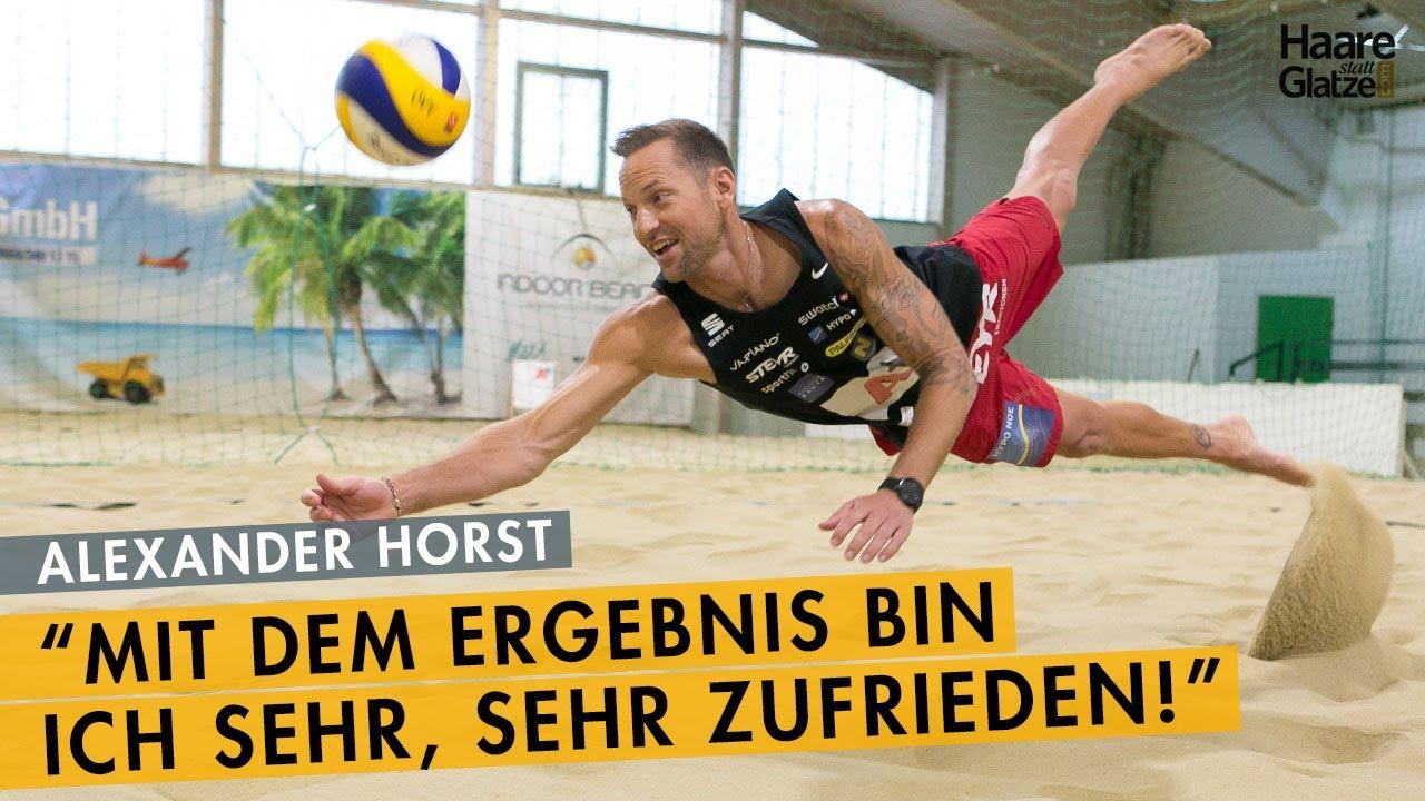 Alexander Horst - Das Ergebnis der Haartransplantation beim Beachvolleyball-Star
