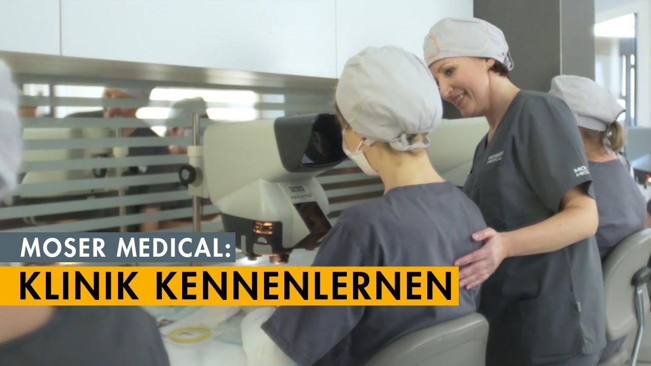 Über uns: Moser Medical in 4 Minuten kennenlernen.