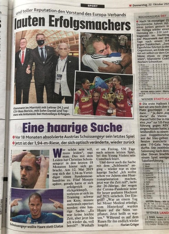 Quelle: Kronen Zeitung, Donnerstag 22.10.2020