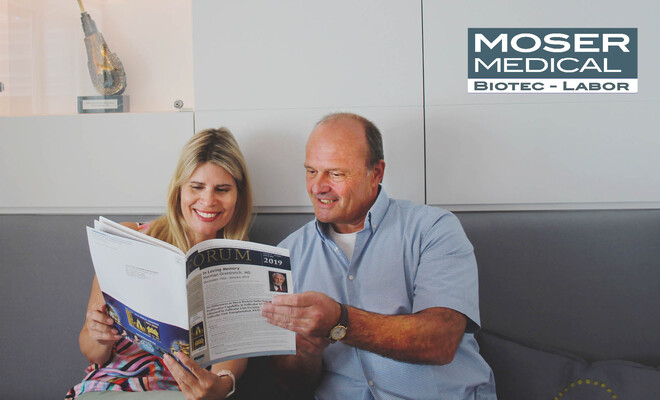 Neue Forschungsergebnisse des Moser Medical Biotec-Labors