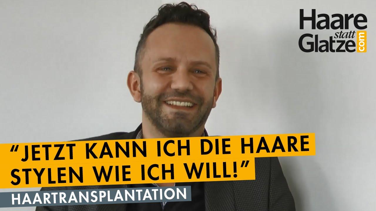 Franzose spricht über seine Haartransplantation