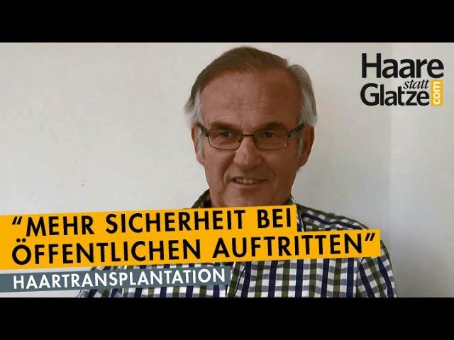 Dr. Hirschberger: Musiker mit Haartransplantation