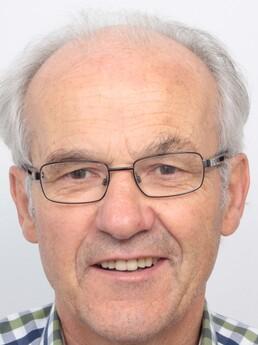 Friedrich Hirschberger vor der Behandlung